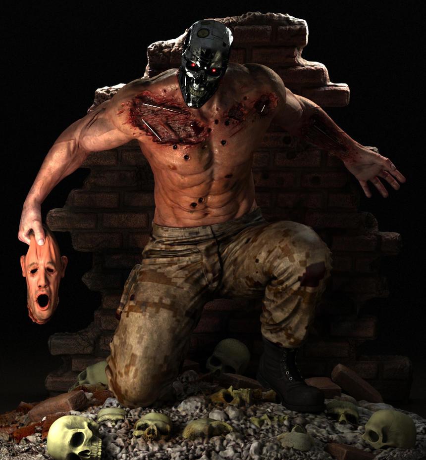 Terminator Theo by monomauve