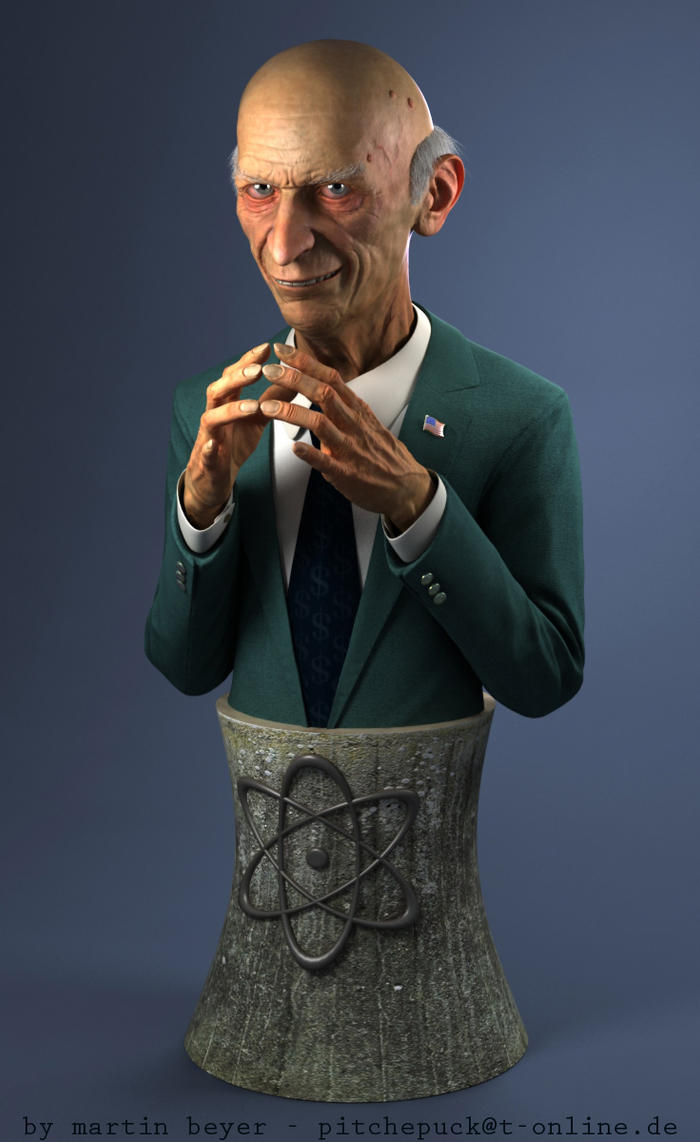 Mr. Burns bust by monomauve
