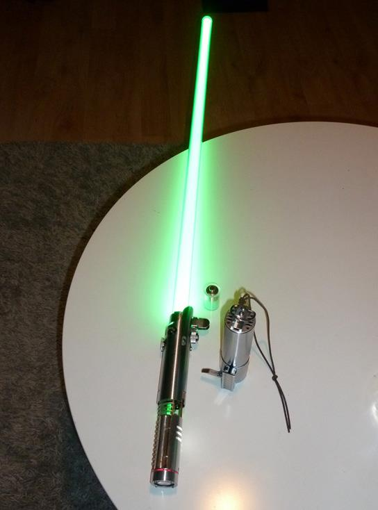 Lightsaber graflex 1.1 by monomauve