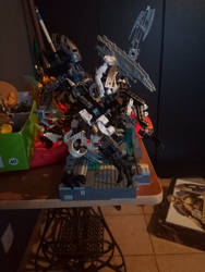 Bionicle moc:Geldaros and Humongah
