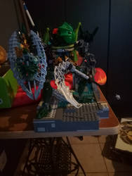 bionicle moc: Weligarn toa of jungle