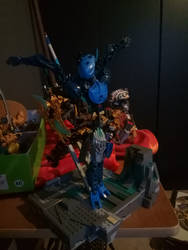 bionicle moc: Gelinya toa of water