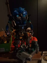 Bionicle moc: Eldryn toa of plasma