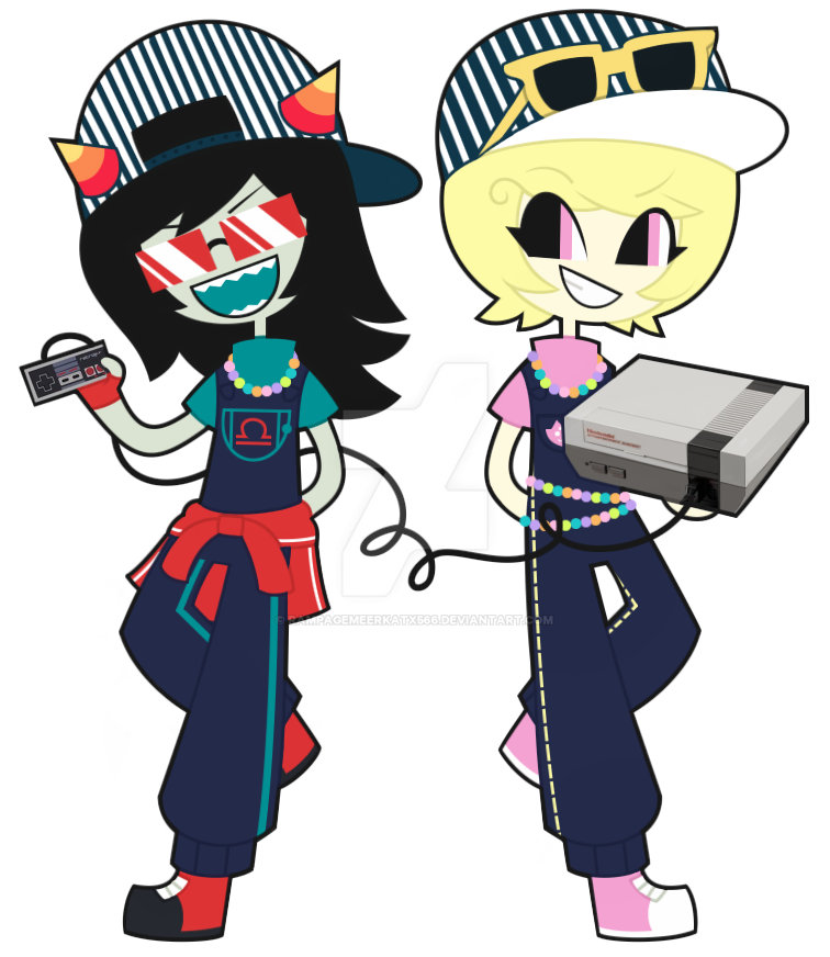 Latula Pyrope And Roxy Lalonde By Rampagemeerkatx566 On Deviantart