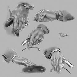 Maurizio hands