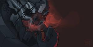 Red Smoke by Jkz