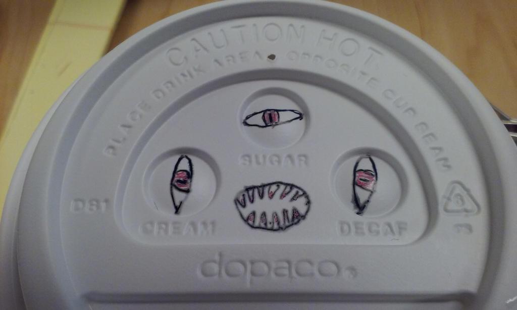 Eldridge Horror in a Cup by JennChant