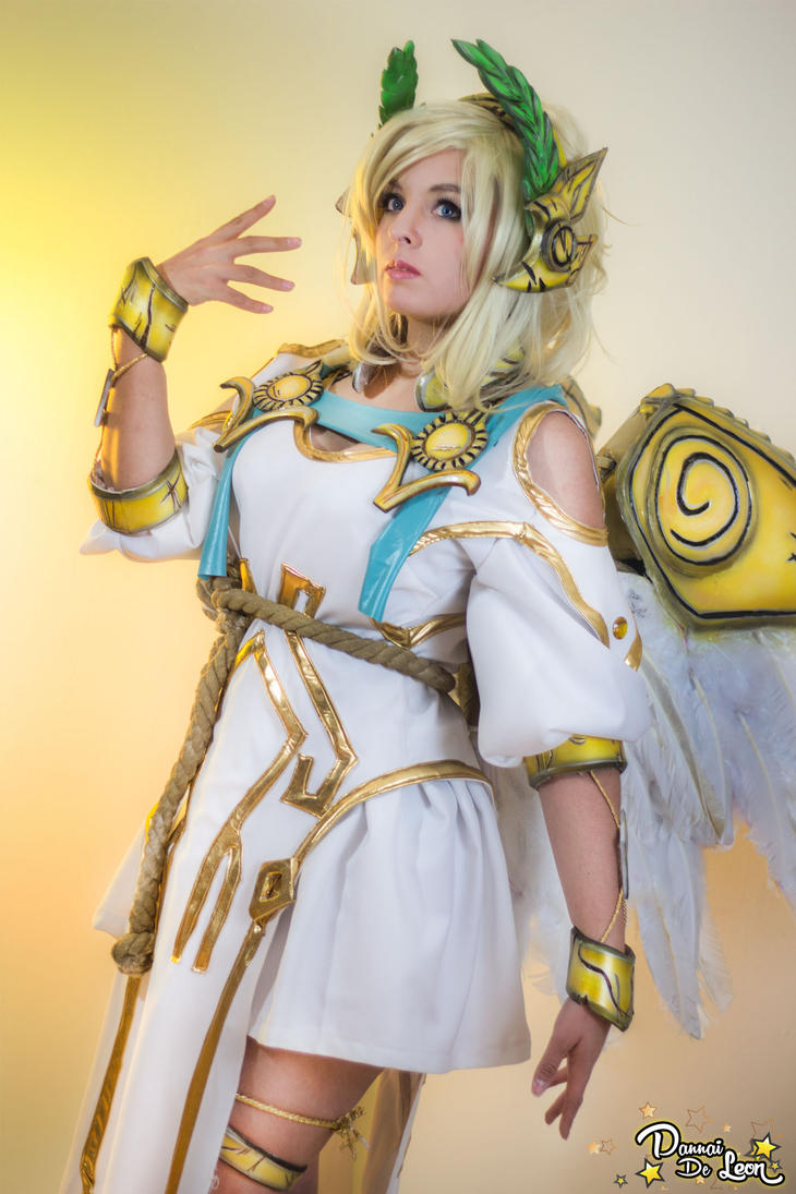 Mercy Winged Victory Cosplay - Pussy Sex Images-9083