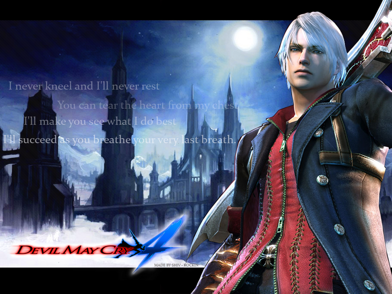 Dmc4 nero wallpaper by rockinfighter on deviantart dmc4 nero wallpaper by rockinfighter voltagebd Choice Image