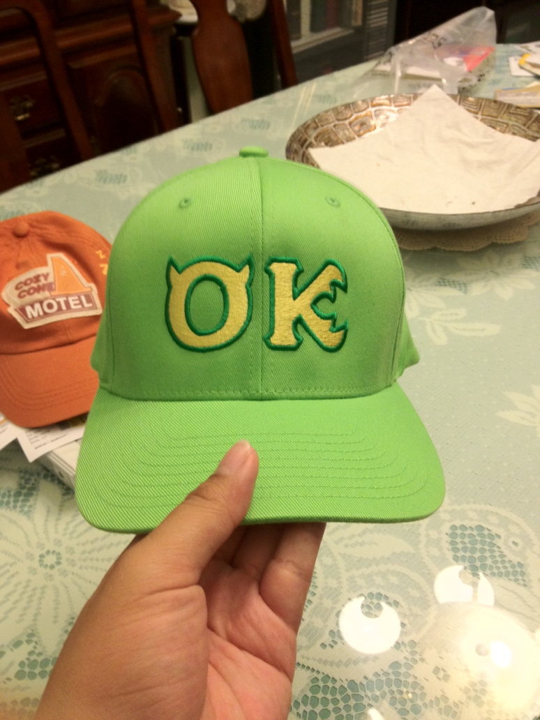my oozma kappa hat arrived today by cartuneslover16 on