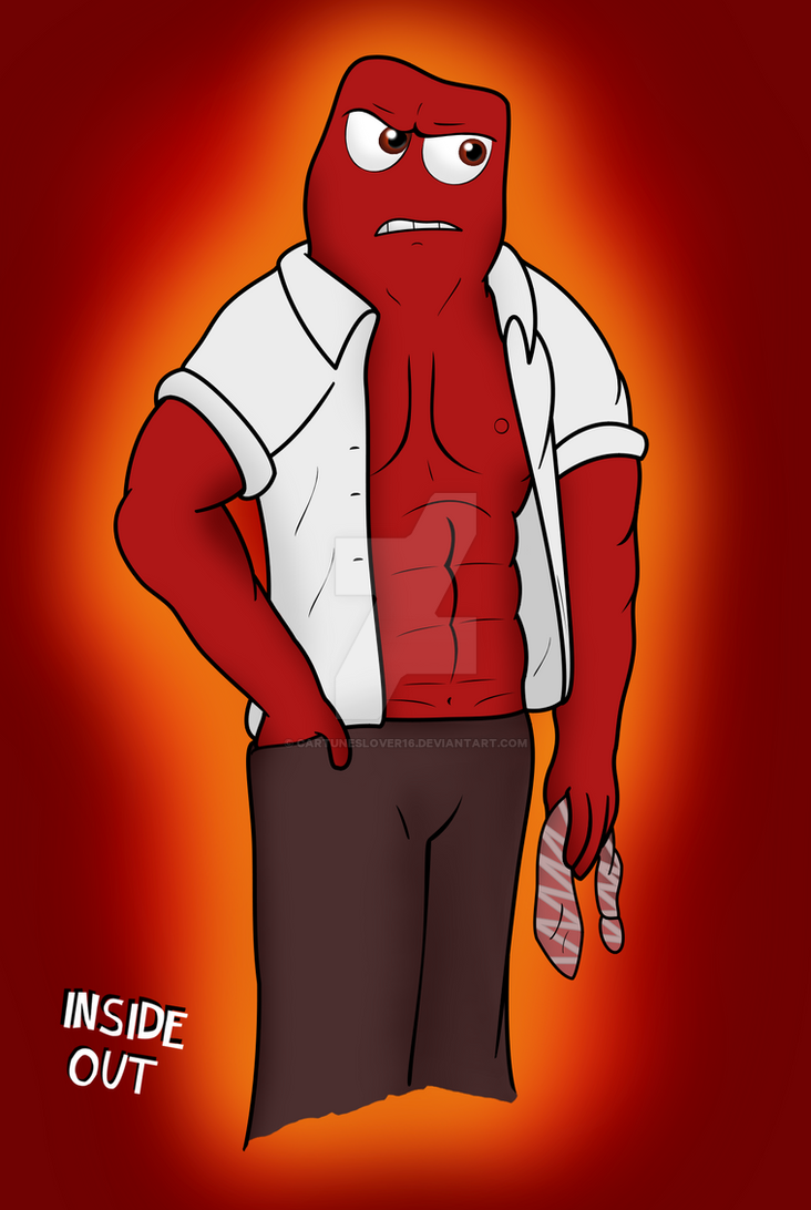 Inside Out's Anger by Cartuneslover16 on DeviantArt