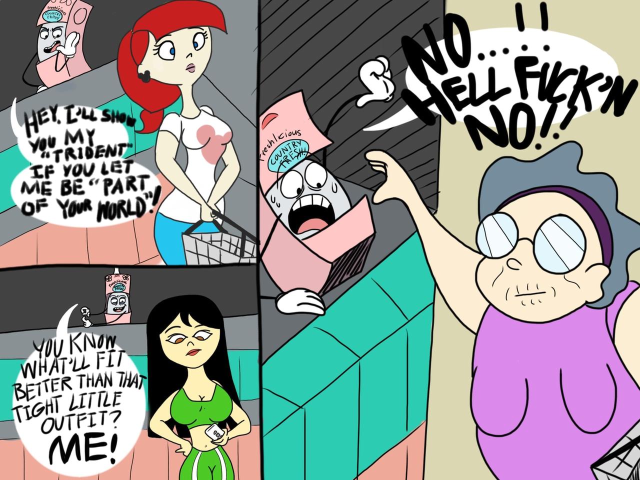 Douche Destiny by Cartuneslover16