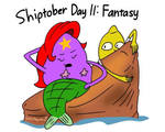 Shiptober Day 11: Fantasy by Cartuneslover16