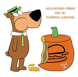 JELLYSTONE-TOBER Day 16: Pumpkin carving