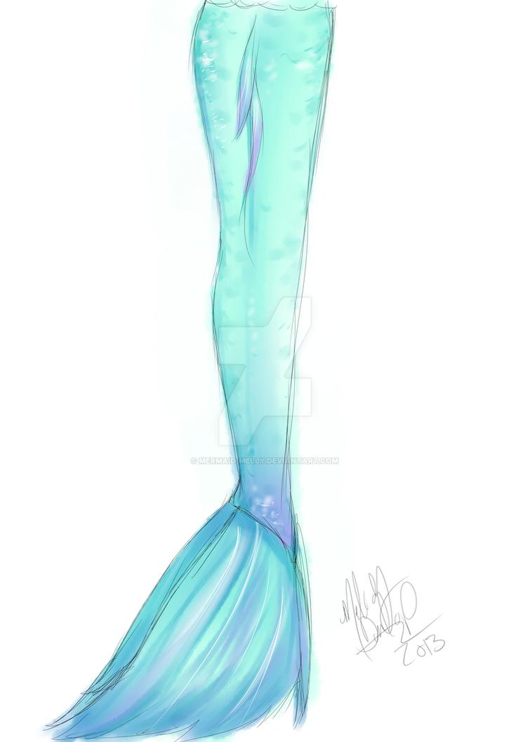 mermaid tail design side by mermaid melly on deviantart. Black Bedroom Furniture Sets. Home Design Ideas