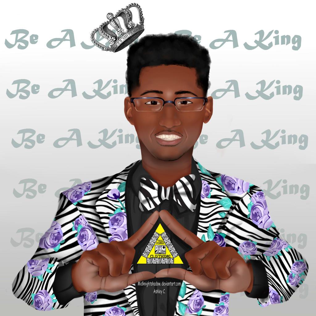 Antoine Is King by midknightshadow