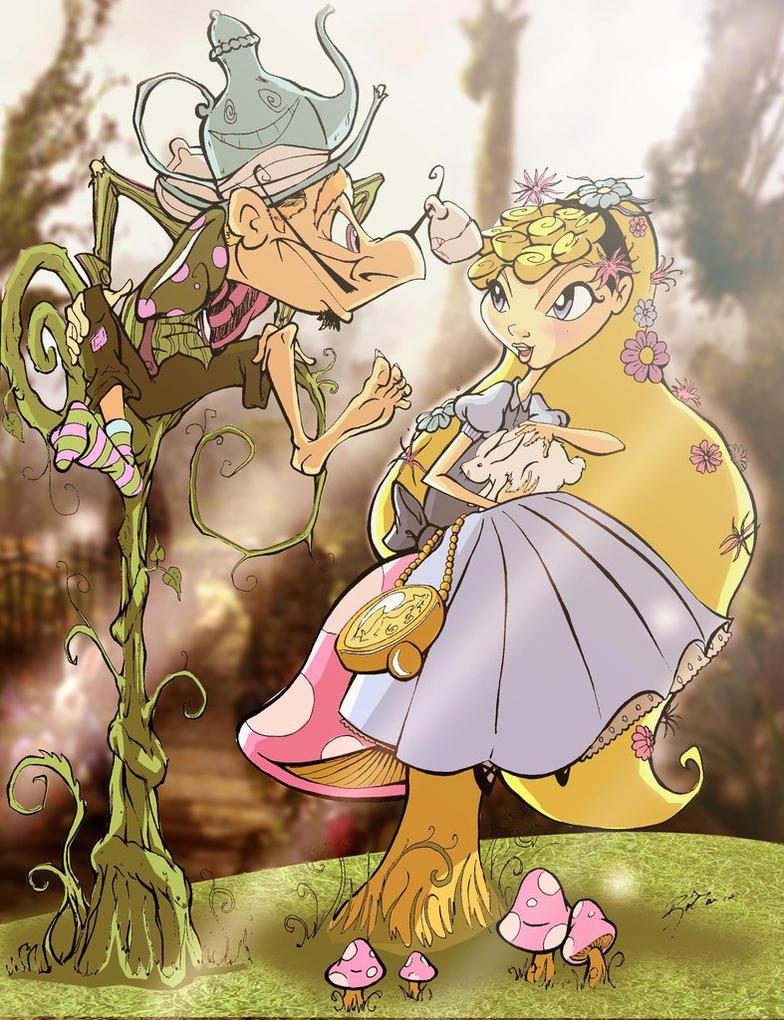 Alice in Wonderland by RobTariArt
