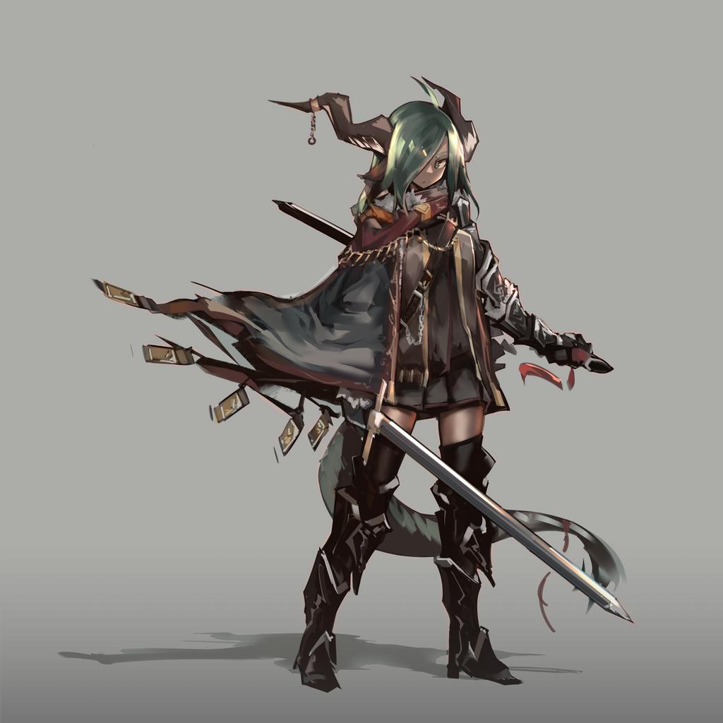 Olive Dragon Girl By Rkeg On Deviantart