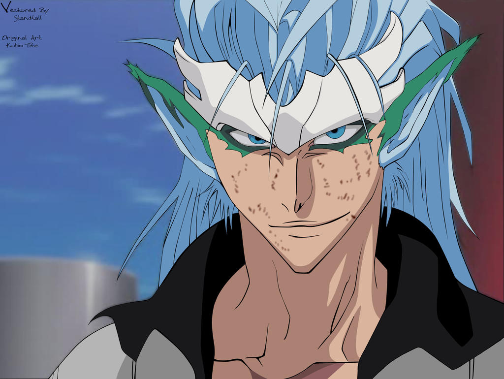 Grimmjow Jeagerjaques wallpaper possibly containing anime called Grimmjow ♥