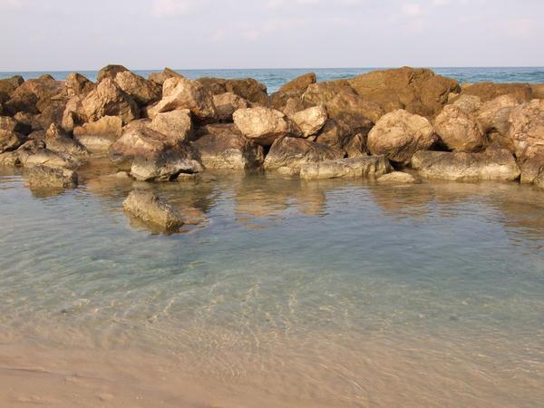Rocky beach by Sugary-stock