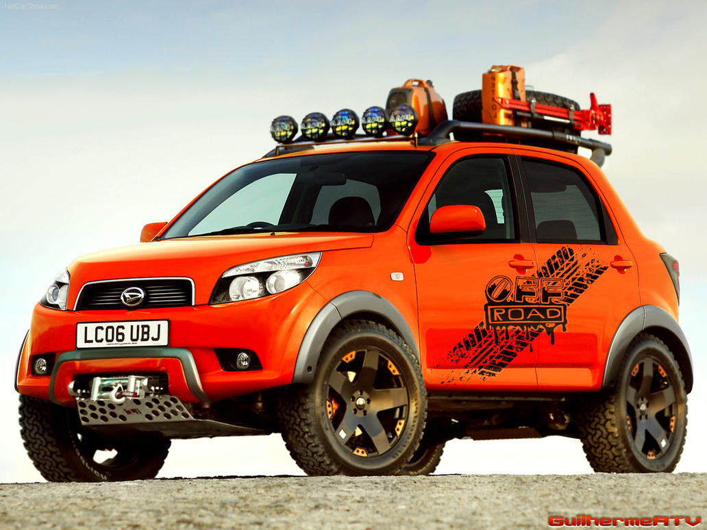 Toyota Rush Modified >> Daihatsu Terios Off Road VT by GuilhermeATV on DeviantArt