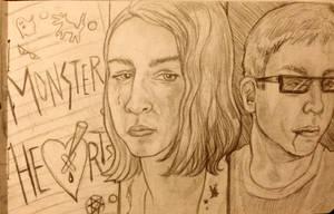 Monsterhearts Sketch (all the supernatural feels)