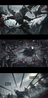 The Ancient War Chapter 5 -Monster Kill- by EvyMyu