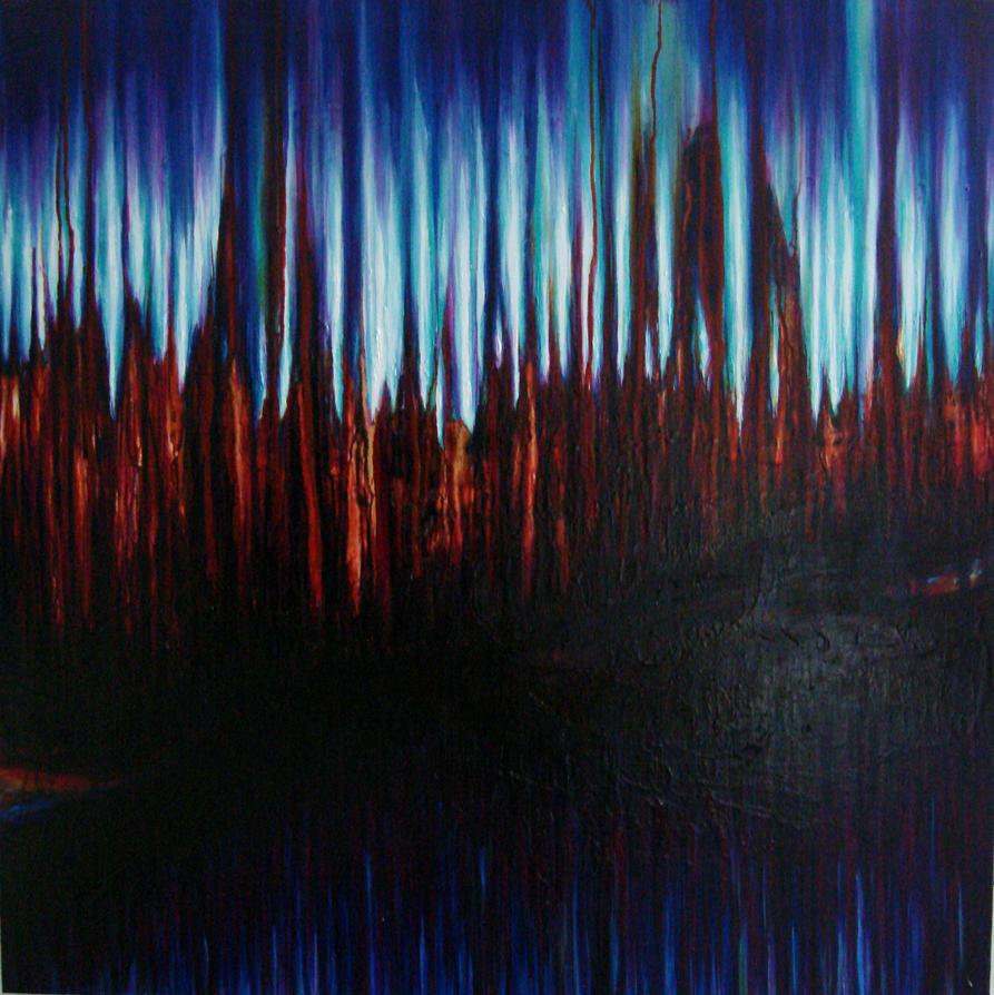 Light Pillars by NicoleRiel