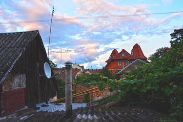 panorama from the terrace by Valentinovna
