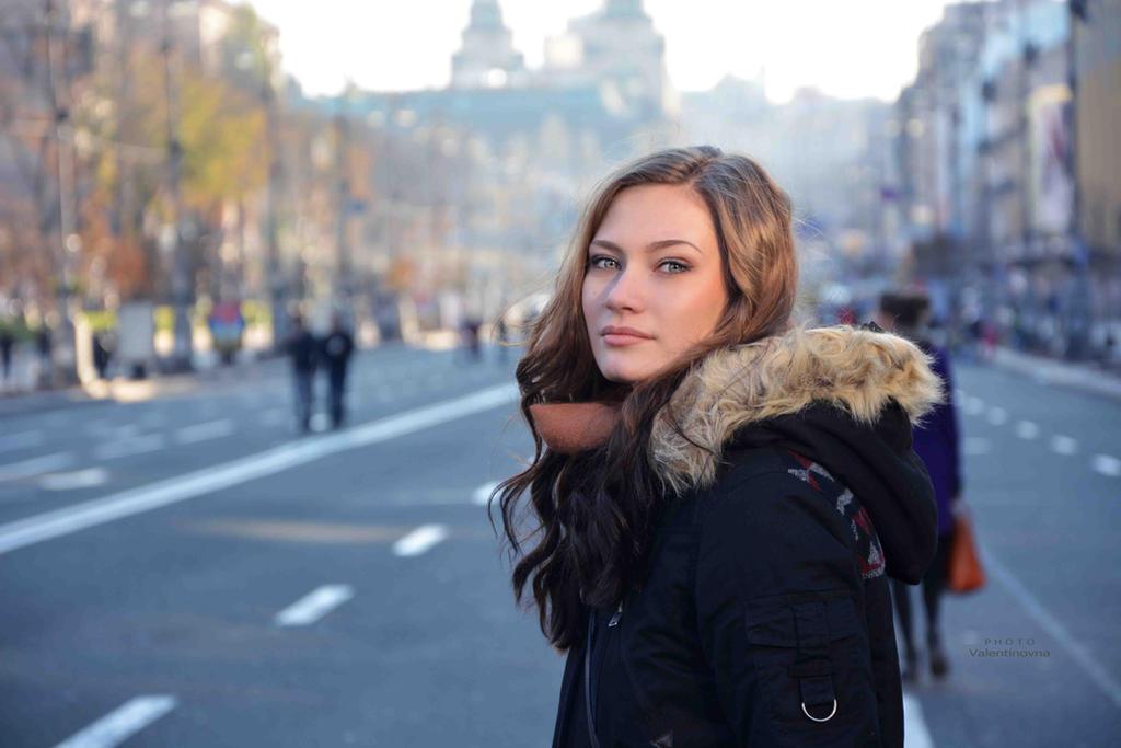 in the city by Valentinovna
