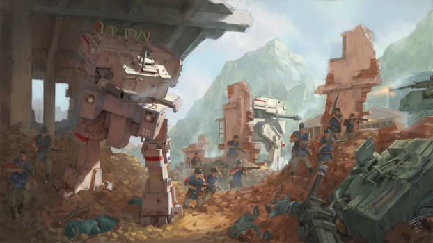 A Falzan War - Ruins and Rage