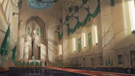 A Falzan War - The Grey Hall