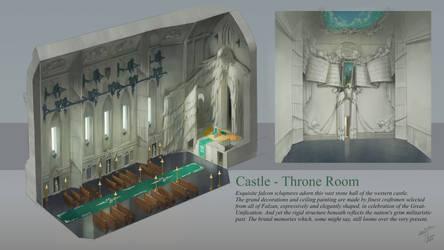 A Falzan War - Castle Throne Room