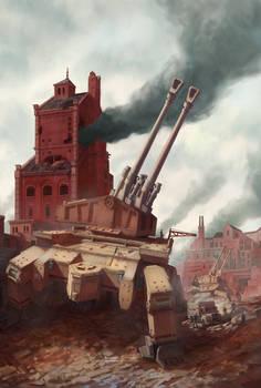 A Falzan War - Artillery