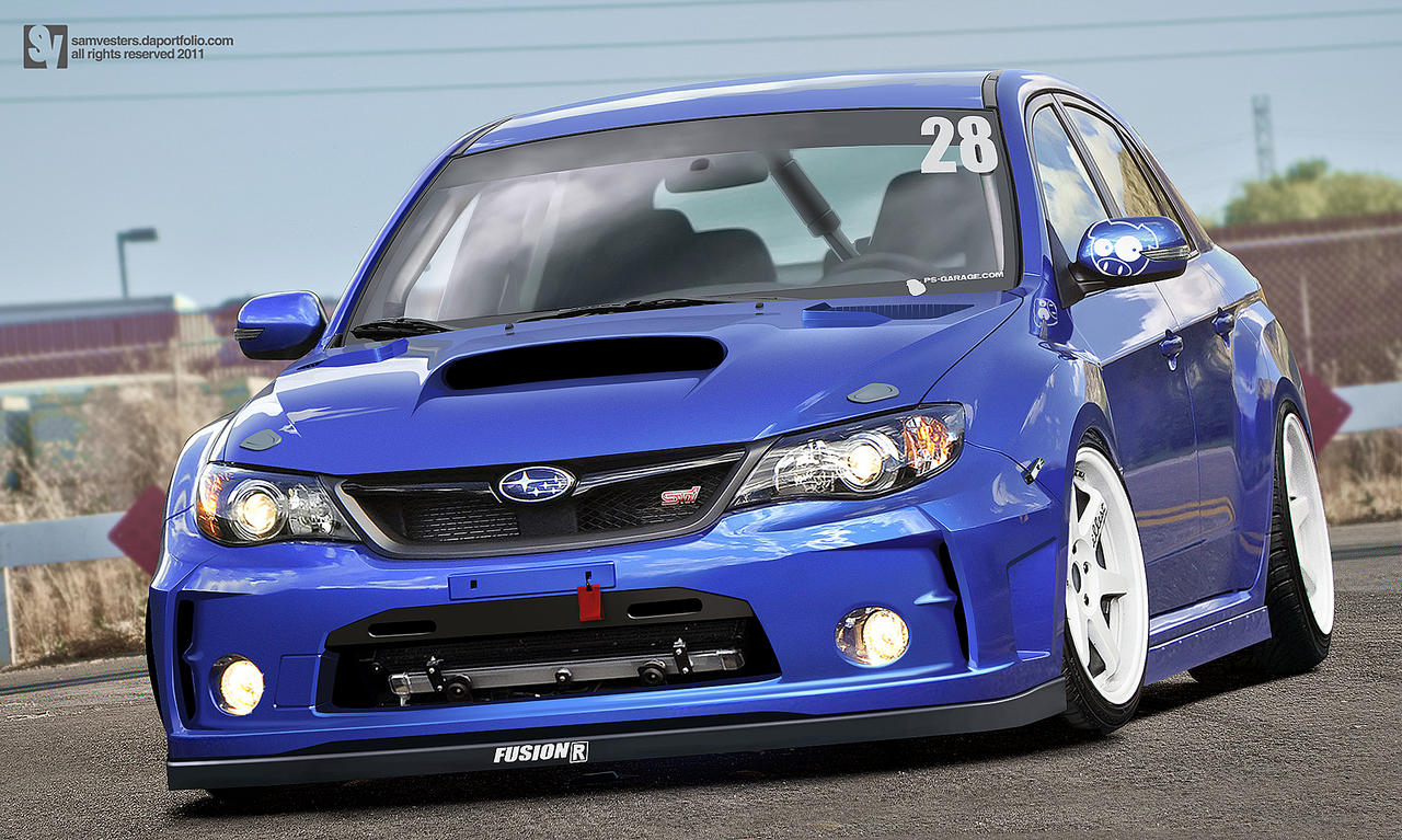 Subaru Impreza WRX STI by samvesters