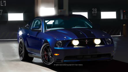 Ford Mustang Shelby GT500 by samvesters