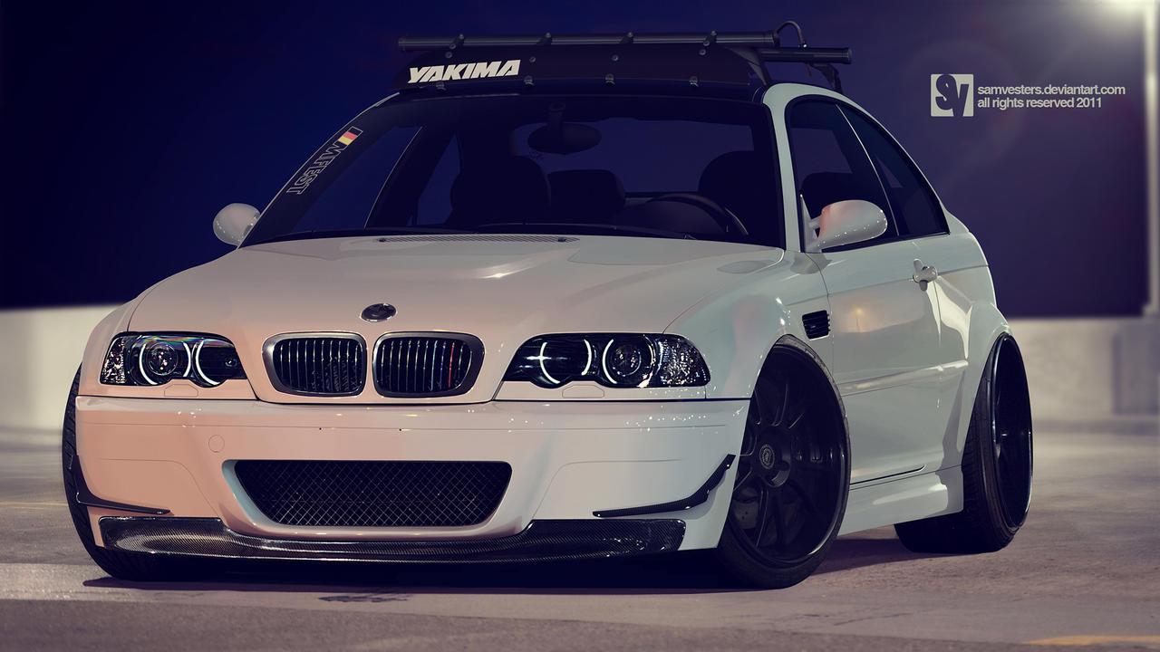 BMW E46 M3 by samvesters