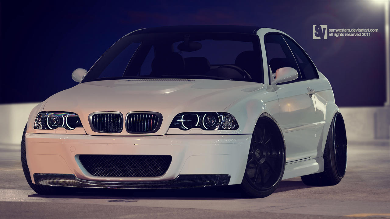 Cleaned BMW e46 M3 by samvesters