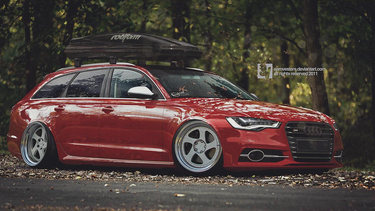 Audi S6 Avant by samvesters