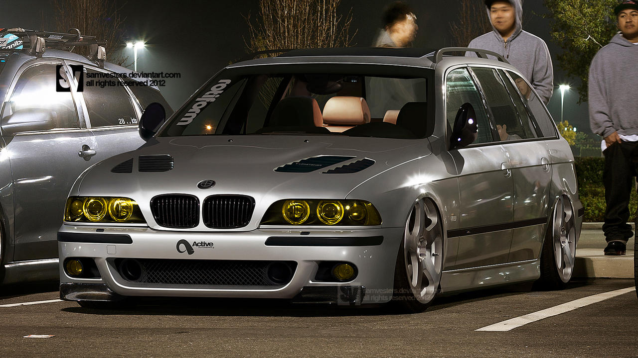 bmw e39 m5 touring by samvesters on deviantart. Black Bedroom Furniture Sets. Home Design Ideas
