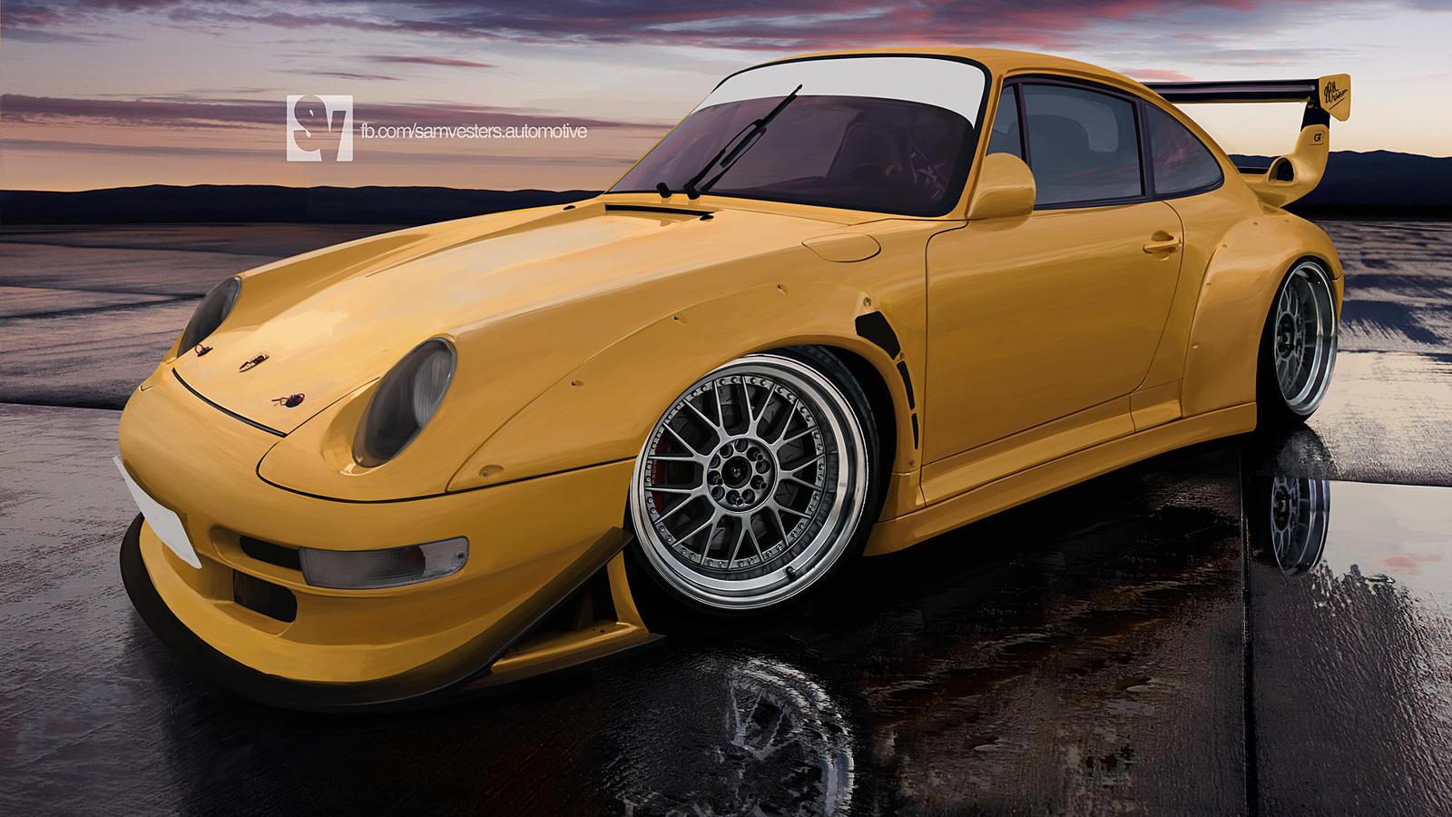 Porsche 993 GT by samvesters