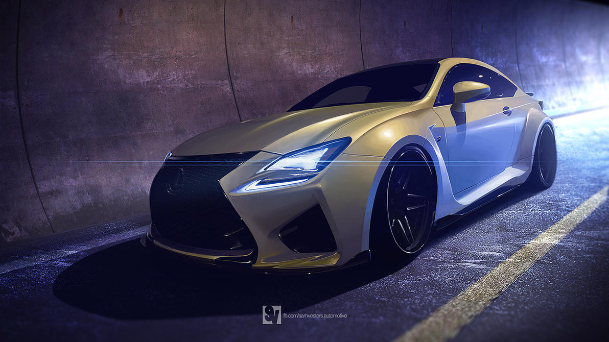 2014 Lexus RC F by samvesters