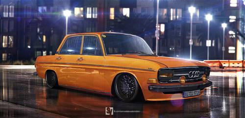 1972 Audi Super 90 sports saloon