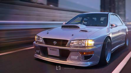Subaru GF8 Impreza by samvesters