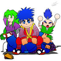 The Ninja's of The Past....