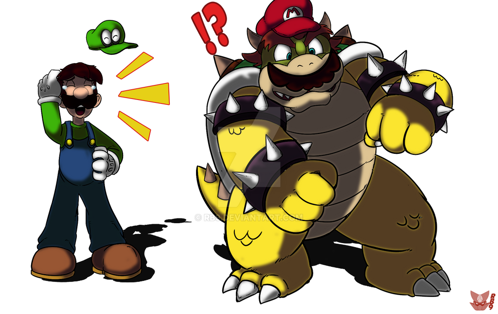 The Bowser Error Of Mario Odyssey By Rb9 On Deviantart