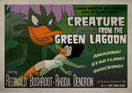 Creature from the Green Lagoon by Goku-san
