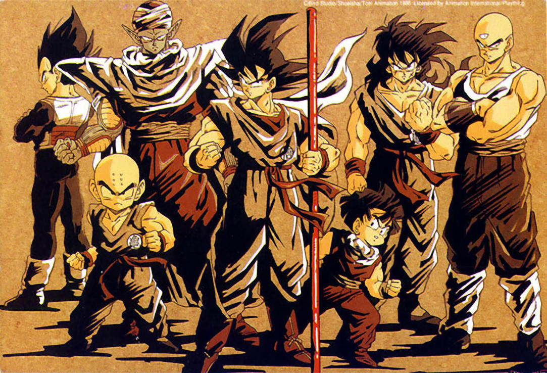 z fighters wallpaper dbs - photo #9