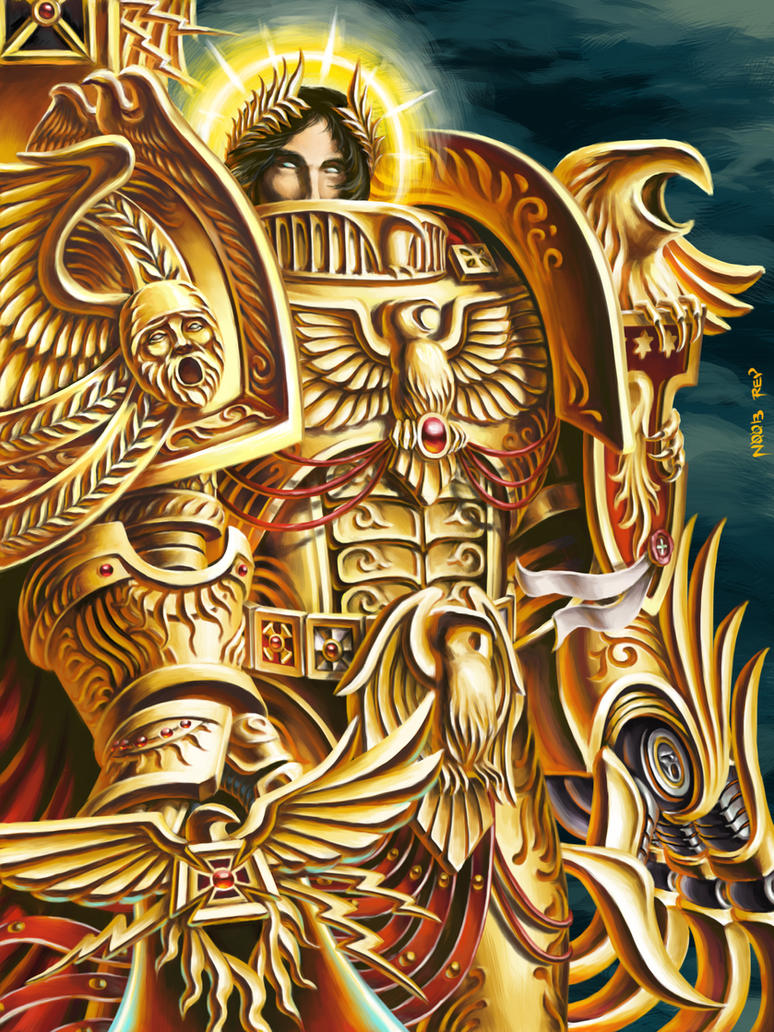 [W30K] L'Empereur de l'Humanité / The Emperor of Mankind Emperor_of_mankind_by_n00brevolution-d3i2obj