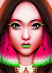 Watermelon by n00brevolution